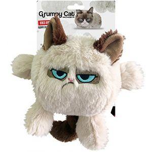 Rosewood 14209 - Jouet Grumpy Cat tête de chat - Pour chien