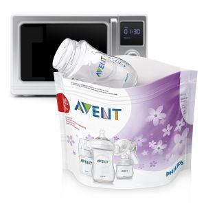 Philips Avent SCF297/05 - Pochettes de stérilisation pour micro-ondes