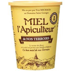Lune de miel MIEL L'Apiculteur Miel de Nos Terroirs/Récolte Locale Pot Carton 500 g