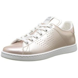 Victoria Deportivo Charol, Baskets Mixte Adulte, Rose (Rosa), 36 EU