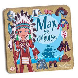 Sentosphère Kit magnétique : Max se déguise