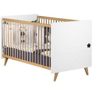 Sauthon Oslo - Lit bébé évolutif Little Big Bed 70 x 140 cm