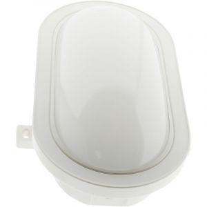 Elexity Hublot ovale LED 15W 1050 lm IP44 Blanc