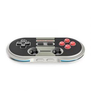 Qumox Fil Bluetooth N30 PRO Controller pour iPhone de manette de jeu 6/6+/5S/5C/iPad/tablette/Android/Nintendo switch Gris
