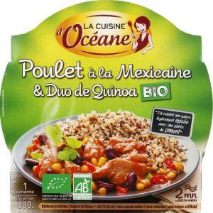 La Cuisine d'Océane Poulet à la mexicaine & duo de quinoa bio