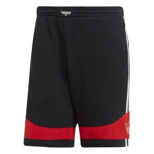 Adidas Short TS Trefoil Originals Noir / Rouge - Taille M
