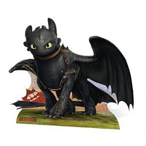 Figurine en carton Krokmou Dragon (122 cm)