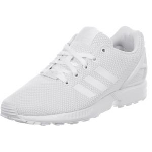 Adidas ZX Flux, Sneakers Basses Mixte Enfant, Blanc (FTWR White/FTWR White/FTWR White), 38 EU (UK Child 5 Enfant UK)