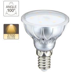 Xanlite Ampoule LED spot, culot E14, 4,2W cons. (25W eq.), lumière blanc chaud - TOULUM