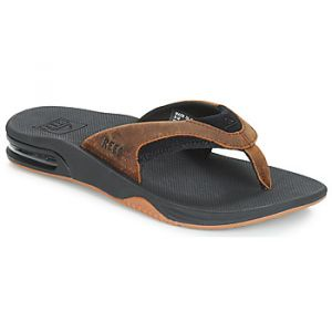 Reef Tongs LEATHER FANNING Marron - Taille 39,40,42,43,44,45,46,47,48