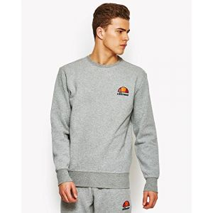ELLESSE Diveria SHS02215 Sweatshirt pour Homme XS Gris