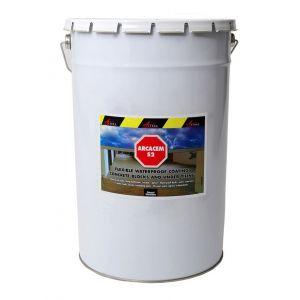 Arcane industries ETANCHEITE SOUS CARRELAGE ET PISCINE HORS SOL 20kg - GRIS MARRON (PROCHE 7013 RAL)