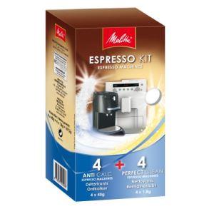 Melitta Kit 2 détartrants + 1 nettoyant pour machine à expresso