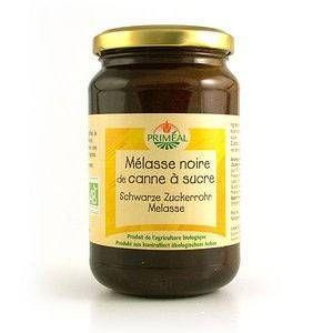 Priméal Mélasse noire de canne à sucre bio - Bocal 450g