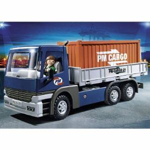 Playmobil 5255 City Action - Camion porte-conteneurs