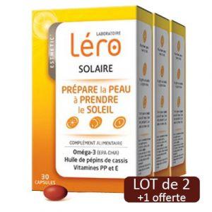 Léro Solaire prépare la peau au soleil - 30 capsules