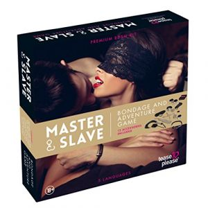 Tease and please Jeu Bondage Master & Slave Beige