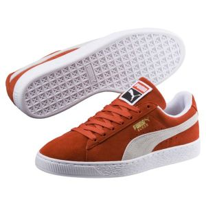 Puma Suede Classic, Sneakers Basses Mixte Adulte, Rouge (Burnt Ochre White), 40 EU