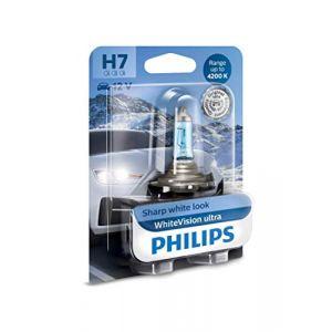 Philips 12972WVUB1 WhiteVision Ultra Xenon Lampe de phare H7 4 200 K