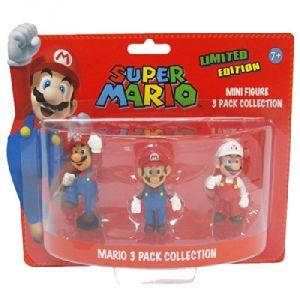 Pack de 3 mini figurines Mario édition limitée