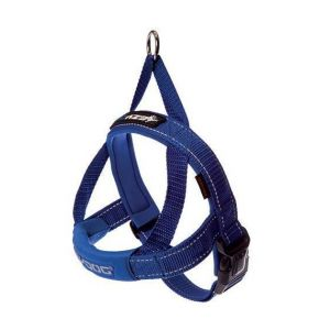 Ezydog Harnais Quick-Fit - Bleu - Taille XXS