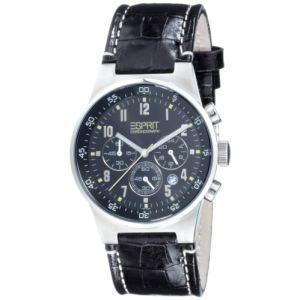 Esprit ES000T31020 - Montre pour homme avec bracelet en cuir