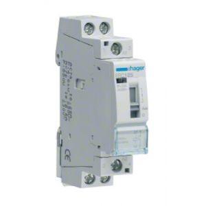 Hager Contacteur commande manuelle 25A 1F 230V ERC125