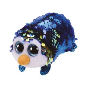 Jura Teeny Ty sequins - Peluche Payton le pingouin 8 cm