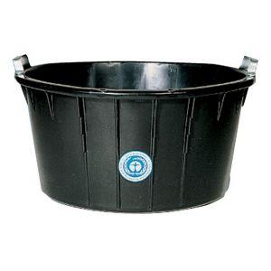 FP Bac à mortier oval, noir 90 L