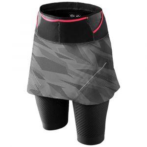 Dynafit Glockner Ultra Jupe 2 en 1 Femme, quiet shade camo XS Pantalons course à pied