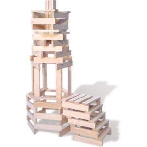 Vilac 2134 - Petit bâtisseur bois naturel 200 pièces