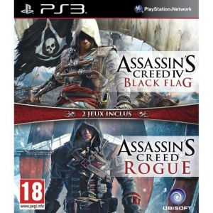 Assassin's Creed IV : Black Flag + Assassin's Creed : Rogue [PS3]