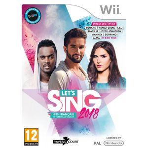 Let's Sing 2018 Hits Français Et Internationaux [Wii]