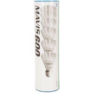 Yonex Mavis 600 Volants de nylon, Blanc, Moyen