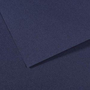 Canson Papier Mi-Teintes 160 g/m² - 50 x 65cm 140 - Bleu Indigo
