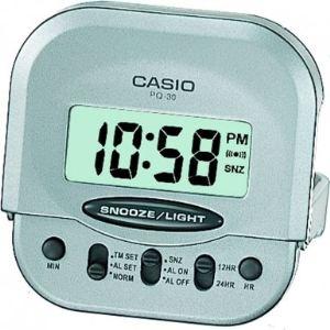 Casio PQ- 30- 8Ef - Réveil Quartz Digital avec alarme répétitive et éclarage led