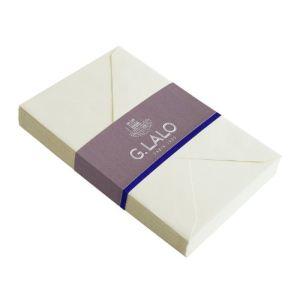 G. Lalo 20 enveloppes Vergé 9 x 14 cm