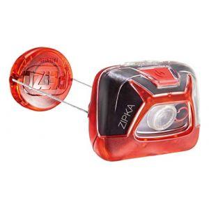 Petzl Lampe frontale ZIPKA rouge - 200lm