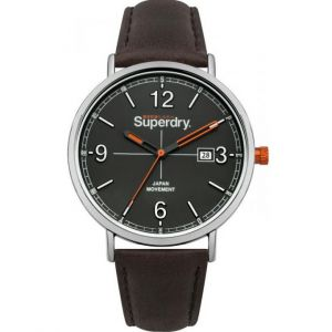 Superdry Montre Oxford Field Homme Gris Syg190BR