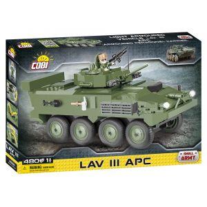 Cobi Lav III apc- véhicule blindé léger- Jeux de construction