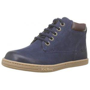 Kickers Boots enfant TACKLAND bleu - Taille 18,19,20,21,22,23,24,26