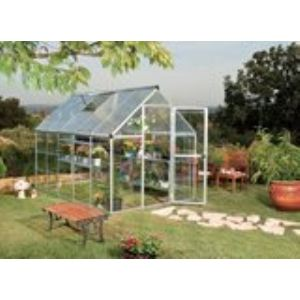 Chalet et Jardin Nature 106 - Serre de jardin en alu et polycarbonate 5,70 m2