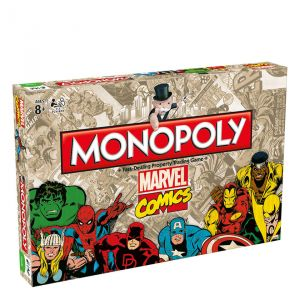 Monopoly Marvel Comics Retro Edition