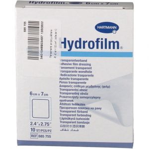Hartmann Hydrofilm - Film transparent 6 x 7 cm (10 pansements)