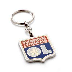 Olympique lyonnais Porte-clés métal