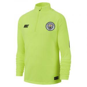 Nike Haut de footballà manches longues Manchester City FC Dri-FIT Squad Drill pour Enfant plus âgé - Jaune - Couleur Jaune - Taille L