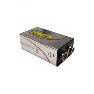 Vision-El Pile PRO LR61 9 volt Super Lithium Tr�s longue dur�e Sundex - VISIO