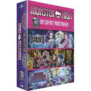 Coffret Monster High : Boo York + Hanté + La Grande Barrière des Frayeurs
