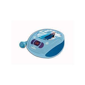 Lexibook D102FZZ - Radio lecteur CD La Reine des Neiges + microphone