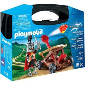 Playmobil 9106 - Knights - Valisette Chevalier et catapulte